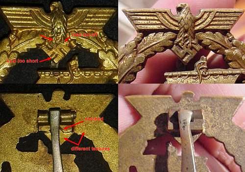 Your thoughts on this Kreigsbzeichen fur Hilfskreuzer-Auxillary Cruiser War Badge?