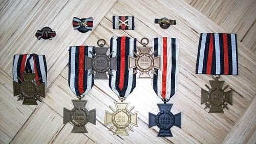 Two Crosses of Honour 1914-1918, real or fake?