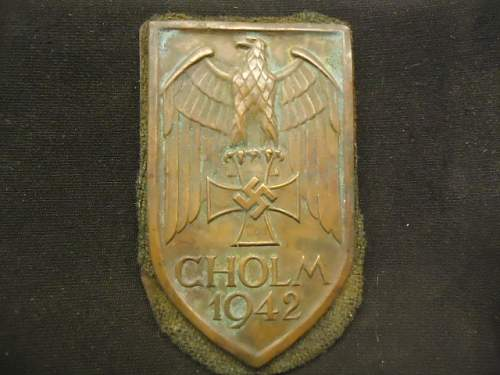 Cholm shield, opinions please