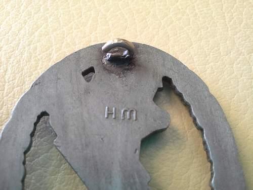 Flakkampfabzeichen der Luftwaffe Wilhlem Hobacher