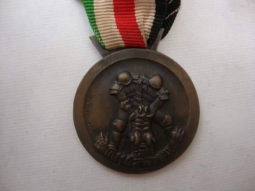 Afrika Campaign medal