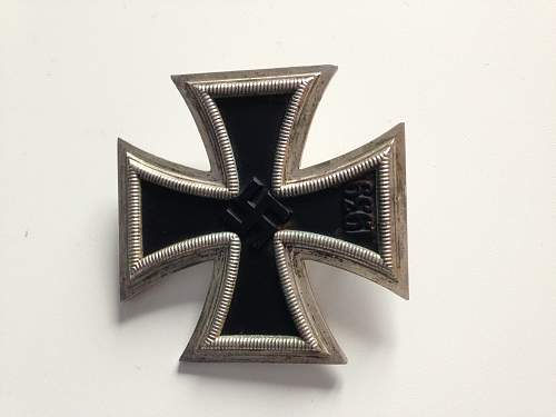 Third Reich Badges/iron cross real or fake?