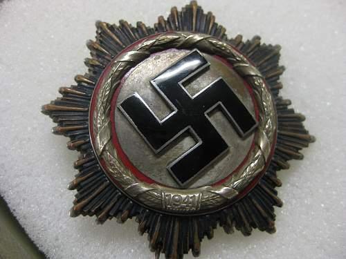 Deutsches Kreuz in Silber