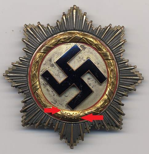 Help with German Cross trench art.