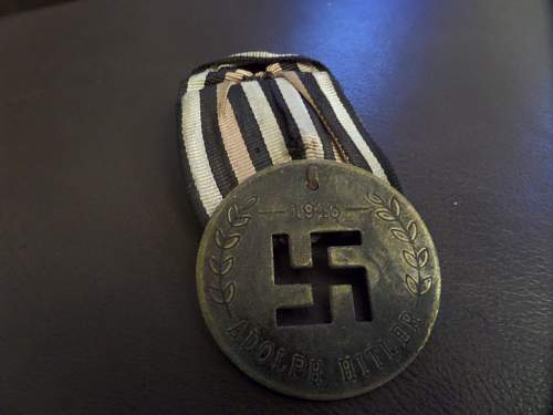 anyone seen this medal before ?