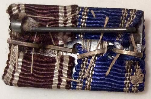 Nsdap 2 place ribbon bar