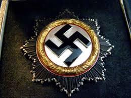 German cross in gold (Deutsches Kreuz)