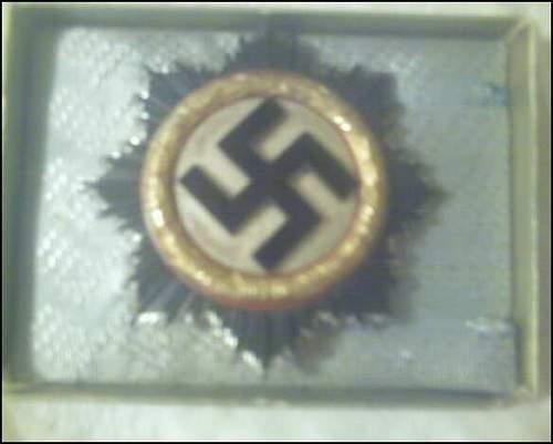 My German Cross in Gold/DKiG