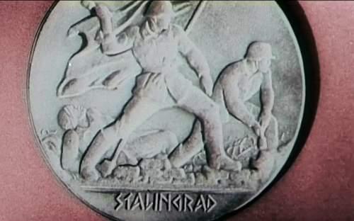 Stanlingrad medal?