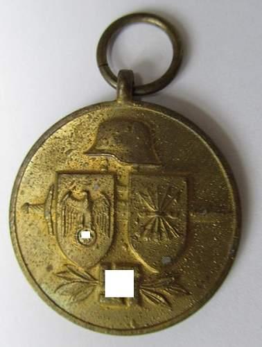 Spanish medal Blue Division