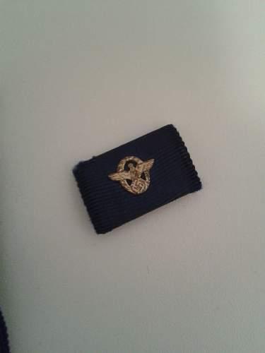 'Polizei Dienstauszeichnung 1. Stufe' 25 Jare