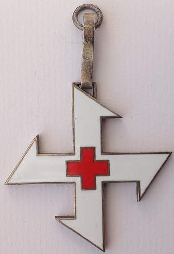 Unknown Red Cross medal?