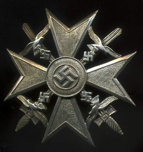 Spanienkreuz Silver