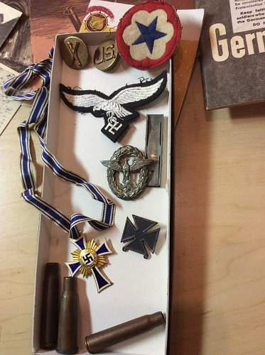 Wwii german medals - what do i have here?