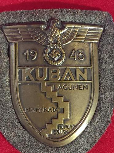Kuban shield - ask for help