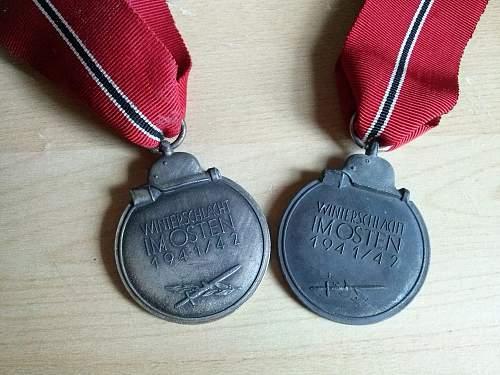 "Medaille ""Winterschlacht im Osten 1941/42"" (Ostmedaille) opinions"