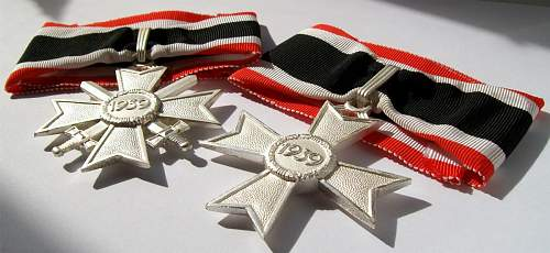 Bundeswehr veterans and the 57' awards.