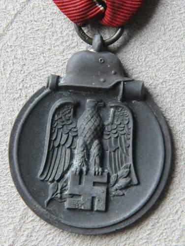 Die Medaille Winterschlacht Im Osten 1941/42: Real or Fake