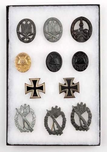 Bandenkampfabzeichen in Bronze