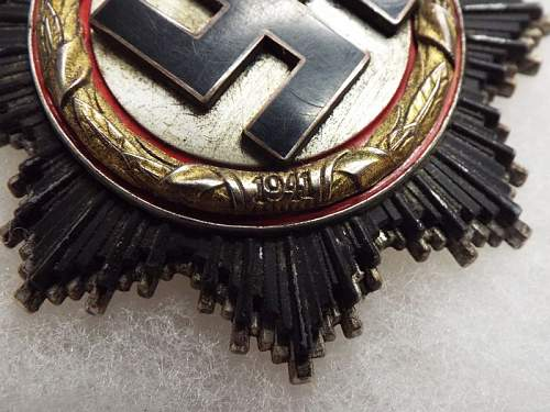 Deutsches Kreuz in Gold