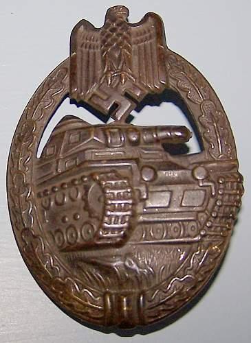 EKI, 2 GABs & Panzer Badge - Real or Fake???