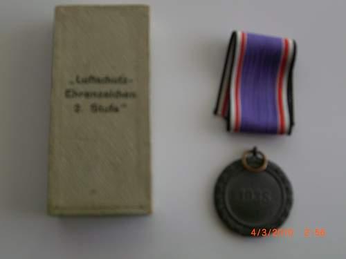 Olympic 1936, Luftshutz 1938