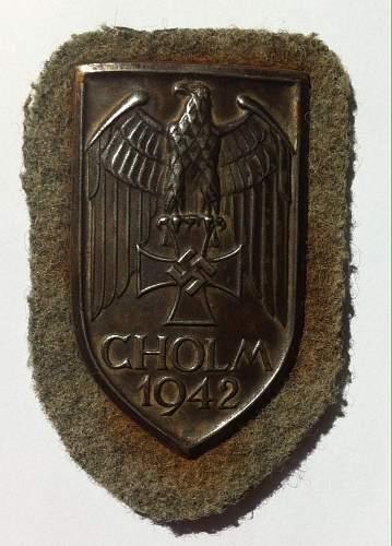 cholm shield fake?