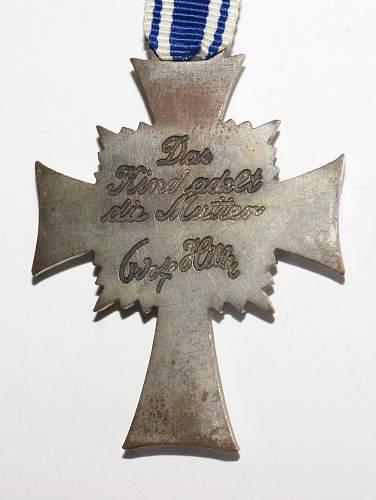 1st Pattern Mutterkreuz in Silber