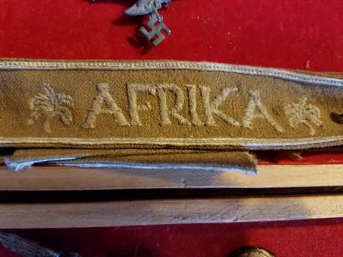 Afrika arm band?
