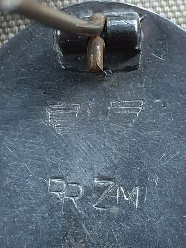 Verwundetenabzeichen 1939 in Silber , real or fake
