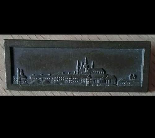 Spange Prager Burg