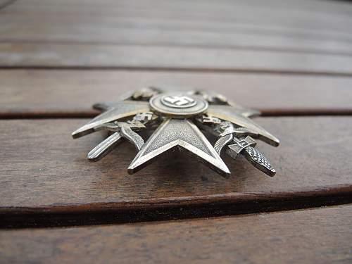 opinions need spanienkreuz painted silver