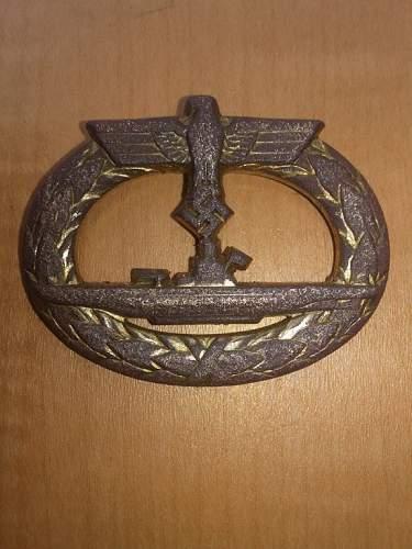 U-boot Kriegsabzeichen  copy?