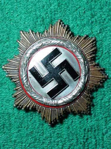 Deutsches Kreuz in Silber 20