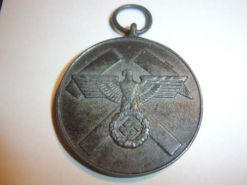 grubenwehrwesen medal, need some help