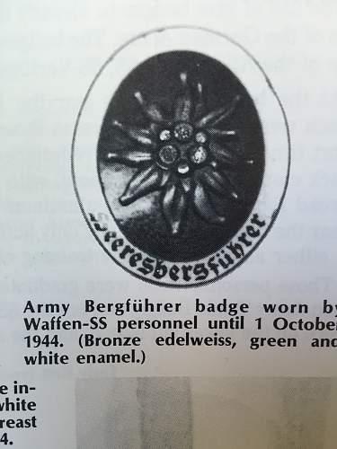 Deschler Heeresbergfuhrer...