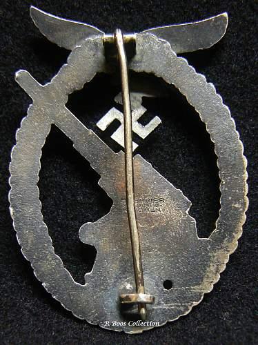 Flakkampfabzeichen der Luftwaffe Gustav Brehmer, Markneukirchen