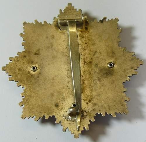Deutsches Kreuz in Gold ,maker 20