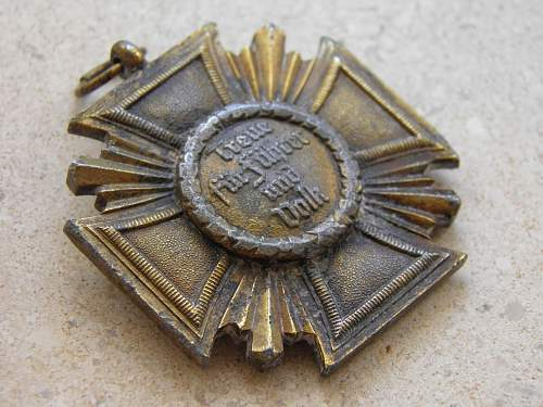 Dienstauszeichnung der NSDAP 10 Jahre - opinions please