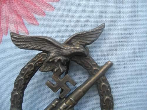 Flakkampfabzeichen der Luftwaffe