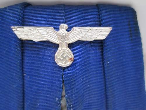 Dienstauszeichnung der Wehrmacht 4.Klasse, 4 Jahre