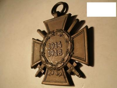 Ehrenkreuz des Weltkrieges: original or fake?