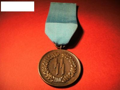 SS Four year long service medal