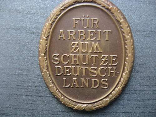 Hitler badge and unknown medal?