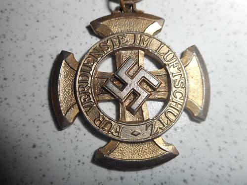 Original Luftschutz Ehrenzeichen 1 Klasse