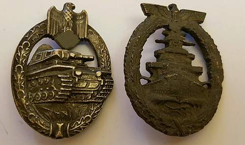 WW2 German Badges - Thoughts?