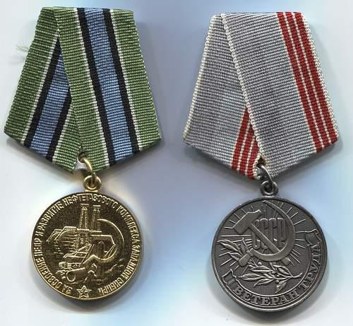Click image for larger version.  Name:Lyubomira Igrat'yevna Gunkevich medals.jpg Views:15 Size:334.1 KB ID:1005486