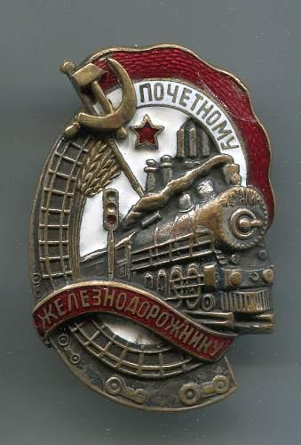 Honored Railroad Worker