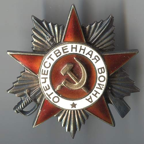 Order of the Great Patriotic War, 1st class, #283217