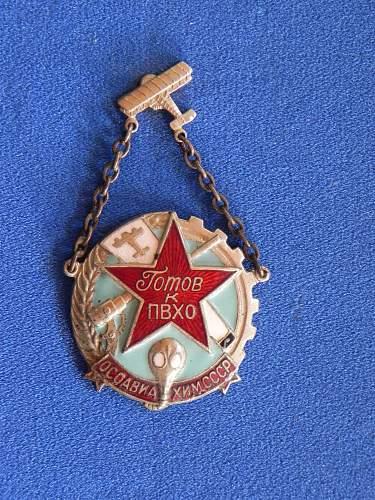 Need help identifying Soviet decoration